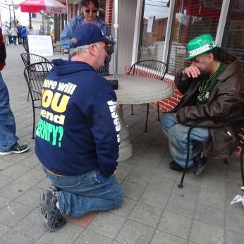 Homeless Man in Seaside (3)